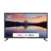Tela Smart 32 Pol HD Wi-Fi Integrado + Conversor TV Digital - TL011 Multilaser