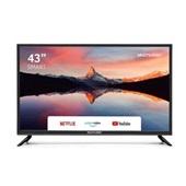 Tela Smart 43 Pol Full HD Wi-Fi Integrado + Conversor TV Digital – TL012 Multilaser