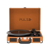 Caixa de Som Retro Pulse Vitrola Suitcase Marrom-Bege SP364 Multilaser