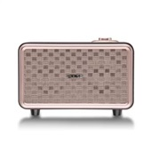 Caixa de Som Retro Pulse Bluetooth Speaker Presley Marrom SP367 Multilaser