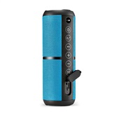 Caixa de Som Pulse Bluetooth Speaker Wave II 20W Potencia Azul SP375