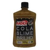 Cola Slime Brilho Magic Ouro 500g 1 UN Radex