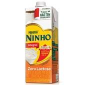 Leite UHT Integral Zero Lactose 1L Ninho