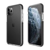 Capa protetora flexível Anti-Impacto iPhone 11 Pro TPU Transparente com borda Preta Geonav