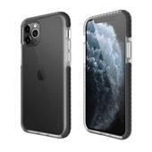 Capa protetora flexível Anti-Impacto iPhone 11 Pro Max TPU flexível Transparente com bordas Preto Geonav