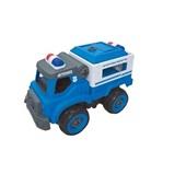 City Machine Caminhão Transporte Policial BR1084 Multikids