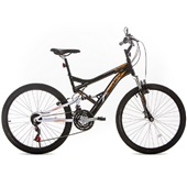 Bicicleta Stinger Aro 26 Preto e Branco 1 UN Houston