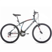 Bicicleta Atlantis Mads Aro 26 Cinza Fosco 1 UN Houston