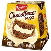 Chocottone Maxi Chocolate Branco 500g 1 UN Bauducco