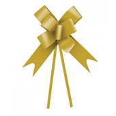 Laço Pronto Liso Ouro 18mm 1 UN Cromus