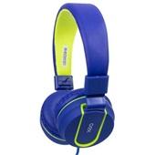 Headset Teen Fluor com Microfone HS107 Azul 1 UN Oex