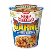 Cup Noodles Sabor Carne Defumada 69g Nissin