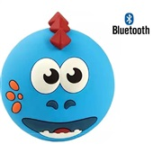 Speaker Kids Dino Bluetooth Azul SK302 1 UN OEX