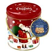 Panettone Gotas de Chocolate Premium Lata Decorativa 400g Santa Edwiges
