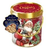 Panettone Gotas de Chocolate Premium Lata Decorativa 750g Santa Edwiges