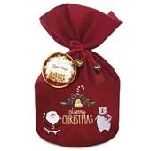 Panettone Christmas Gotas de Chocolate Belga Bag 1kg Santa Edwiges