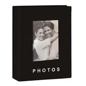 Álbum para Fotografias Yes para 100 Fotos 13x18cm Preto 1 UN Yes