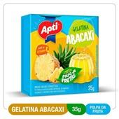 Gelatina Abacaxi 35g Apti