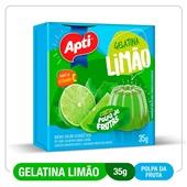 Gelatina Limao 35g Apti