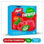 Gelatina Framboesa 35g Apti