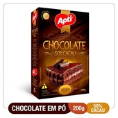 Chocolate em Pó 50% Cacau 200g Apti