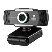 Webcam 1080P Foco Manual KROSS ELEGANCE KE-WBM1080P