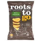 Chips de Batata Doce Sabor Azeite e Manjericão 45g 1 UN Roots To Go