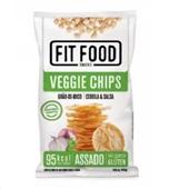 Fit Food Veggie Chips Grão de Bico sabor Cebola e Salsa Tyrrels