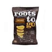 Chips de Batata Doce Sabor Especiarias 45g 1 UN Roots To Go