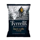 Batata Frita Black Truffle & Sea Salt 1PT 150g Tyrrels