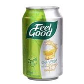 Chá Verde com Laranja e Gengibre Lata 330ml Feel Good