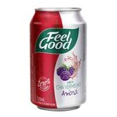Chá Vermelho com Amora Lata 330ml Feel Good