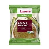 Açúcar Mascavo Orgânico 500g 1 UN Jasmine