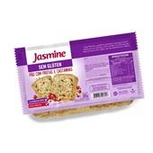 Pão sem Glúten com Frutas e Castanhas 350g 1 UN Jasmine