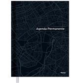 Agenda 2021 Permanente 145x205mm Preta 192 FL Foroni