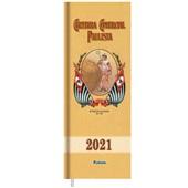 Agenda 2021 Paulista 130x360mm Preta 192 FL Foroni
