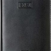 Agenda 2021 Capri 135x192mm Preta 176 FL Foroni