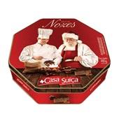 Bolo Suíço de Natal Nozes Lata 480g Casa Suíça