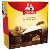 Bolo Suíço de Natal Chocolate com Nozes 400g Casa Suíça