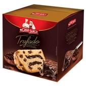 Panettone Trufado Meio Amargo Gotas de Chocolate 550g Casa Suíça