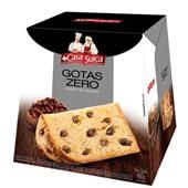 Panettone Gotas de Chocolate Zero Açúcar 400g Casa Suíça