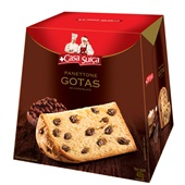 Panettone Gotas de Chocolate 400g Casa Suiça
