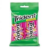 Goma de Mascar sabor Tutti Frutti Bag 32g 4UN Trident