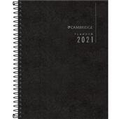 Planner 2021 Executivo Espiral Cambridge 80 Folhas 177x240mm 1 UN Tilibra