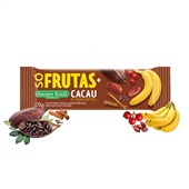 Barra de Frutas Vegana Banana Cacau 1 UN Banana Brasil