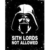 Placa Decorativa Sith Lords 1 UN Sinalize