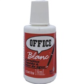 Corretivo Líquido 18ml Office Blanc 1 UN Radex