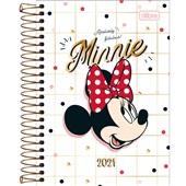 Agenda 2021 Minnie Espiral A 129x187mm 176 FL Tilibra