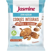 Cookies Zero Açúcar Amêndoas e Castanhas 150g 1 UN Jasmine