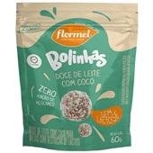 Bolinha Doce de Leite Zero Lactose 60g 1 UN Flormel